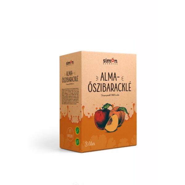 100% Alma-Őszibaracklé - 3 L