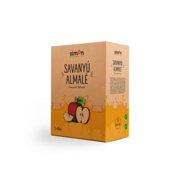 savanyú almalé