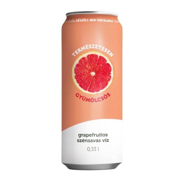 grapefruitos szénsavas víz